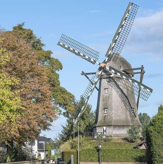Urlaub am Niederrhein, Mühlen (JaHotel)