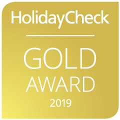 HolidayCheck Gold Award 2019